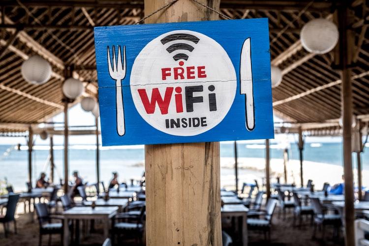 red wifi pública