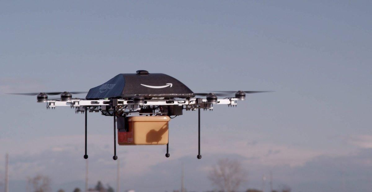 amazon reparte con drones