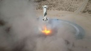 la carrera espacial de bezos